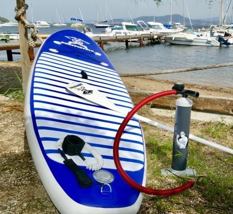 PACK STAND UP PADDLE SURFPISTOLS GONFLABLE CLASSIC