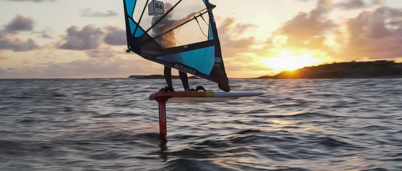 WINDSURF FOIL AXIS