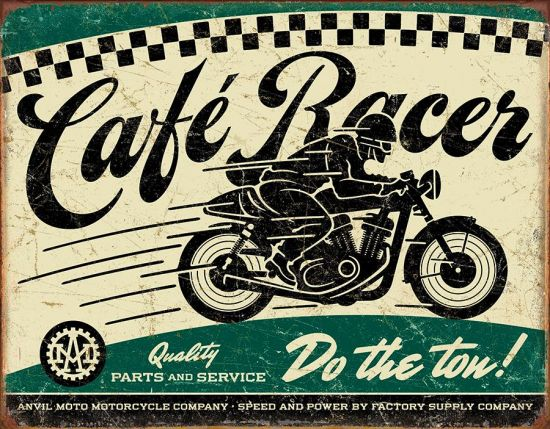 PLAQUE CAFE RACER