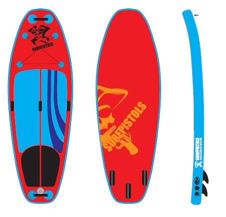 SURFPISTOLS ISUP WHITE WATER 9'5