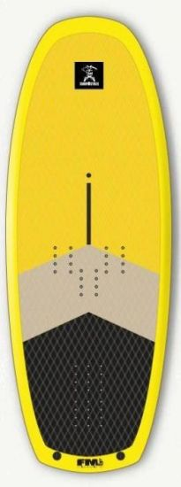 SURFPISTOLS  FLYING MACHINE 140L WOOD WIND/WING/SUP